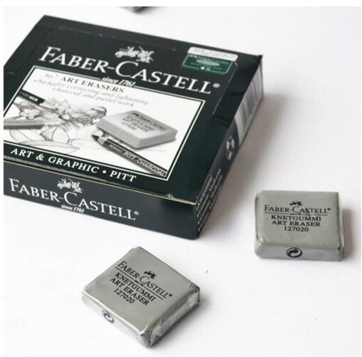 Germany FABER-CASTELL advanced plastic rubber eraser Faber sketch art drawing plasticine Moldable eraser