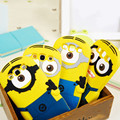 Fashional new arrival cute cartoon model silicon material Despicable Me Yellow Minion Case for Samsung Samsung