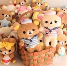 Kawaii 17*15 centimetri vari stili lovers rilakkuma bambola peluche peluche peluche regalo di compleanno regalo di vendita al dettaglio kcs  (China (Mainland))