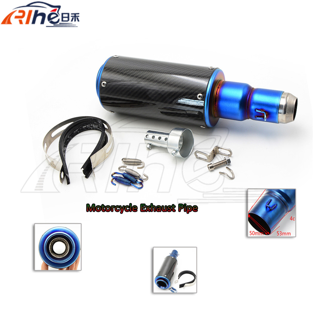 hot selling motorcycle accessories muffler carbon fiber exhaust pipe For Honda CBR600 F4I 2001 2002 2003 2004 2005 2006 2007<br><br>Aliexpress