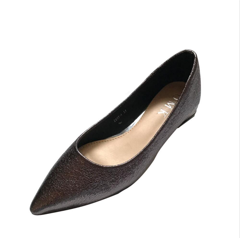 fashion  Women's shoes comfortable flat shoes New arrival flats  -2017-1-  Flats shoes large size Women shoes