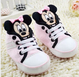Arrival Cartoon Canvas 23 Colors Girl Baby Shoes Toddler Shoes First Walker Shoes Baby infant Prewalker Shoes