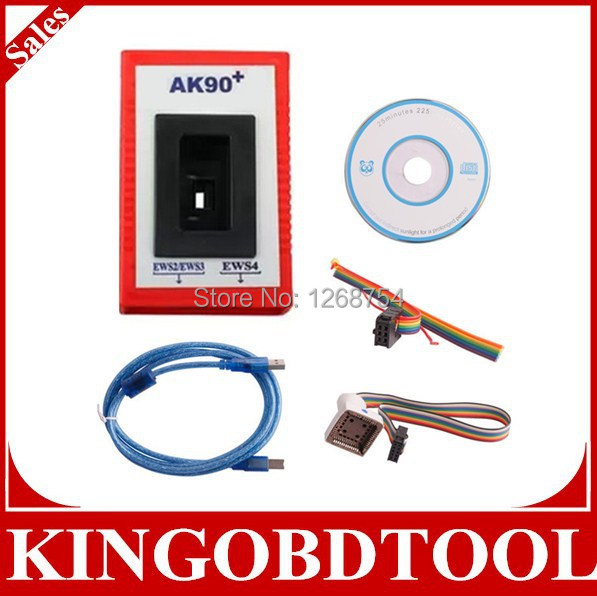 FREE DHL highly recommed auto for BMW key programming AK90+ Key Programmer ak 90 key copy machine with Low price,key maker tool(China (Mainland))
