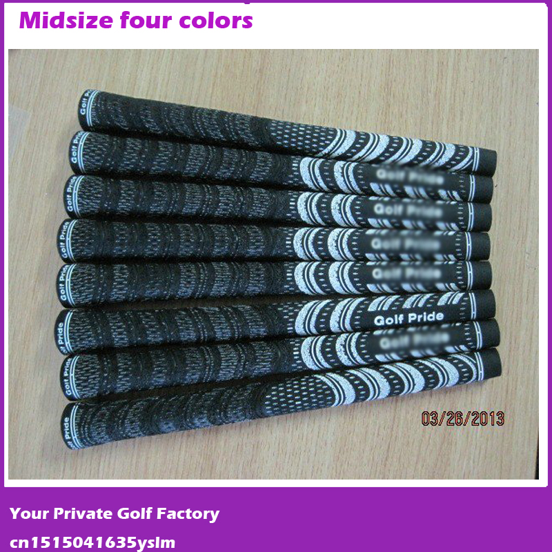 Brand New Carbon Yarn Golf Iron Grips Wearproof Can Mix Color Club Grip Midsize