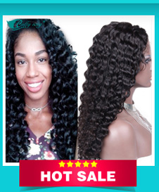 Full Lace Human Hair Wig With Natural Baby Hair Brazilian Loose Deep Wave Glueless Wavy Virgin Hair Full Front Lace Wigs On Sale