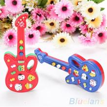 Electronic Guitar Toy Nursery Rhyme Music Children Baby Kids Toy Gift 1QX7(China (Mainland))