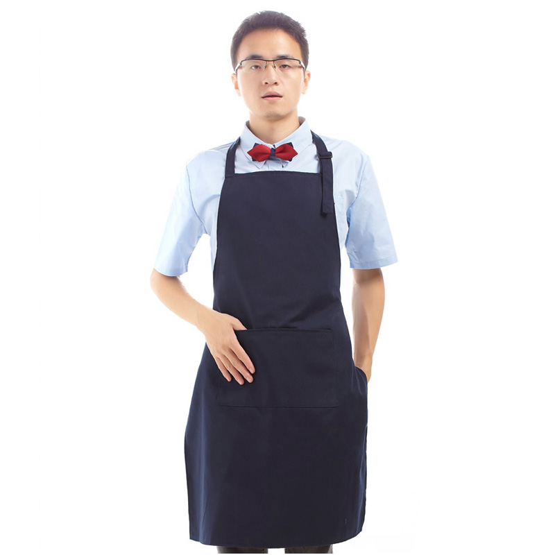 Korean Home Waterproof Kitchen Apron Polyester Avental De Chef Apron Men Cooking Aprons For Men Restaurant Uniforms Aprons(China (Mainland))