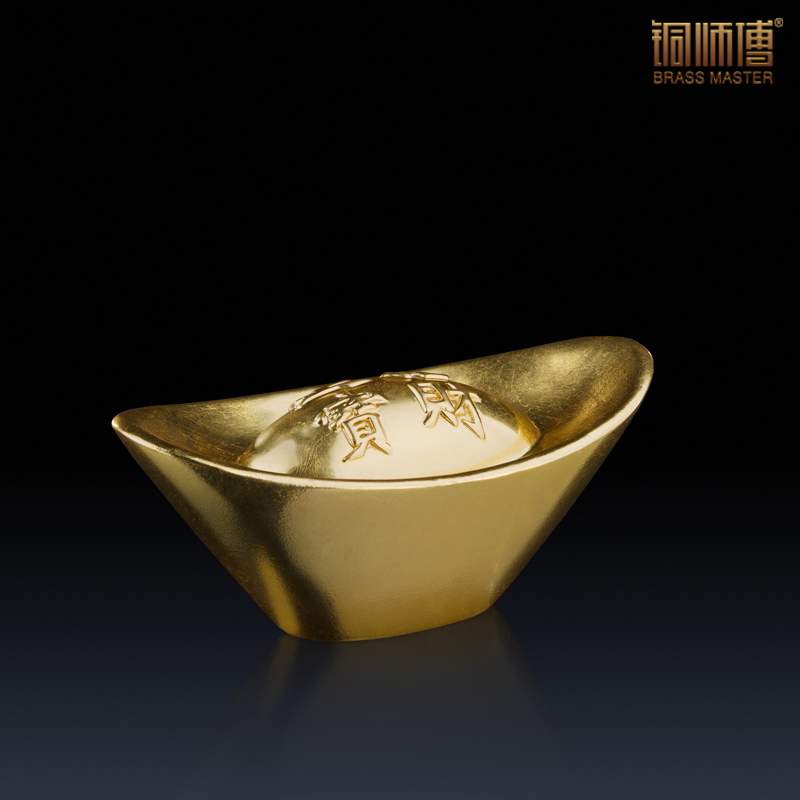 The solid big wing (gold) copper as a whole The sitting room place Real gold foil stick(China (Mainland))