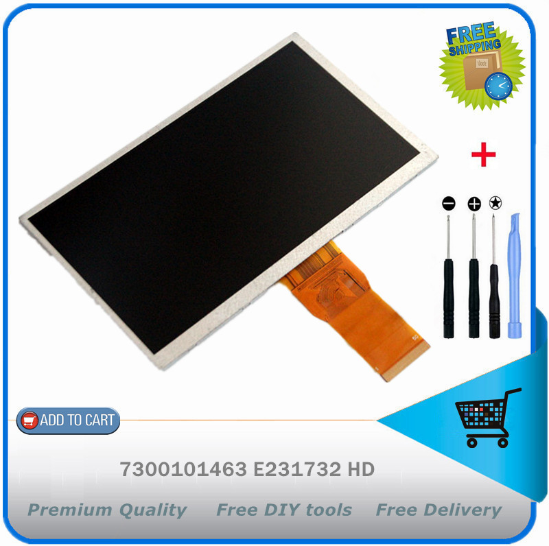 Texet TM-7024 50pin 2.8x164x97mm lcd screen display tablet accessories free shipping + DIY tools<br><br>Aliexpress