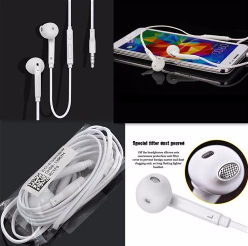 MambaMan Samsung S6 Noise Isolating Earphone Wired In-Ear Stereo Metal Headset Piston Earbud For Xiaomi IPhone Samsung S6 Mp3