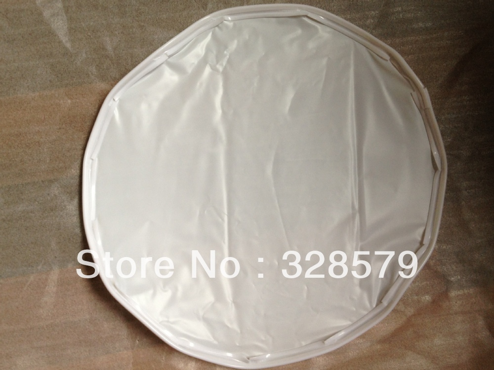 Finished sheet pieces stretch Ceiling Film sample #2011, With White PVC Harpoon. It is avaiable for Black PVC Harpoon as well.(China (Mainland))