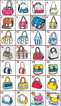30 PCS Wholesale fashion bags gismo cartoon carry in space cartoon 3d sling bag