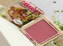 1 pcs/lot Cosmetic Blusher The Balm Instain Argle Lace Pinstirpe hot sexy bahama mama down fart cabana boy Makeup Blush palette