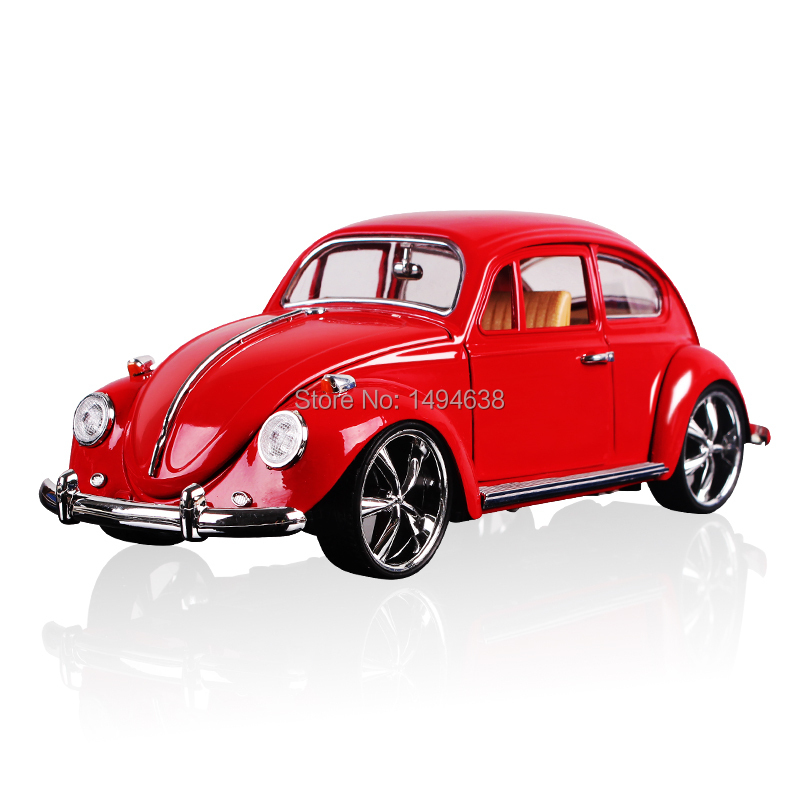 Free Shipping 1:18 Scale Models Diecast Figure Vintage Classic Cars Alloy Toys Educational Toys For Children Boys Simple package(China (Mainland))