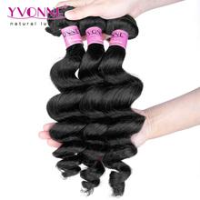 Unprocessed Virgin Cambodian Hair Weave,4 Bundles Loose Wave Human Hair,Top Quality Aliexpress YVONNE Hair