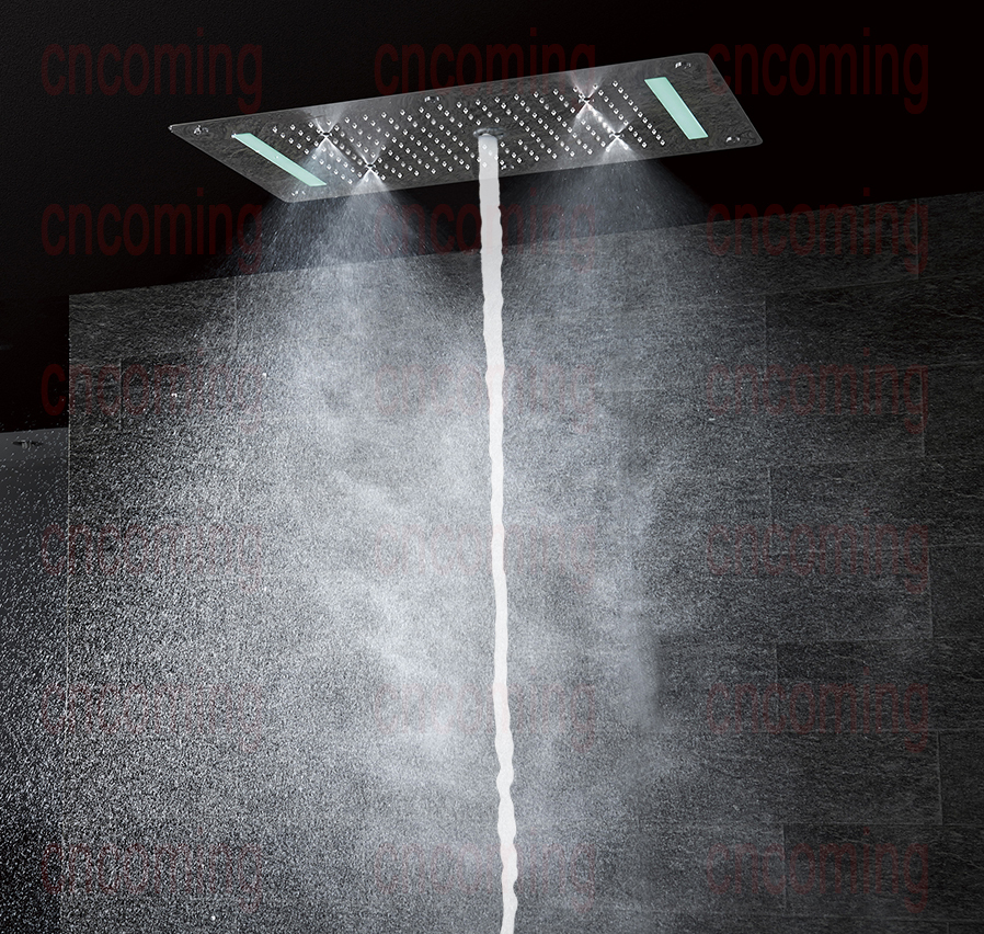 ceiling shower flush contemporary rain stunning mount astounding home head mounted design