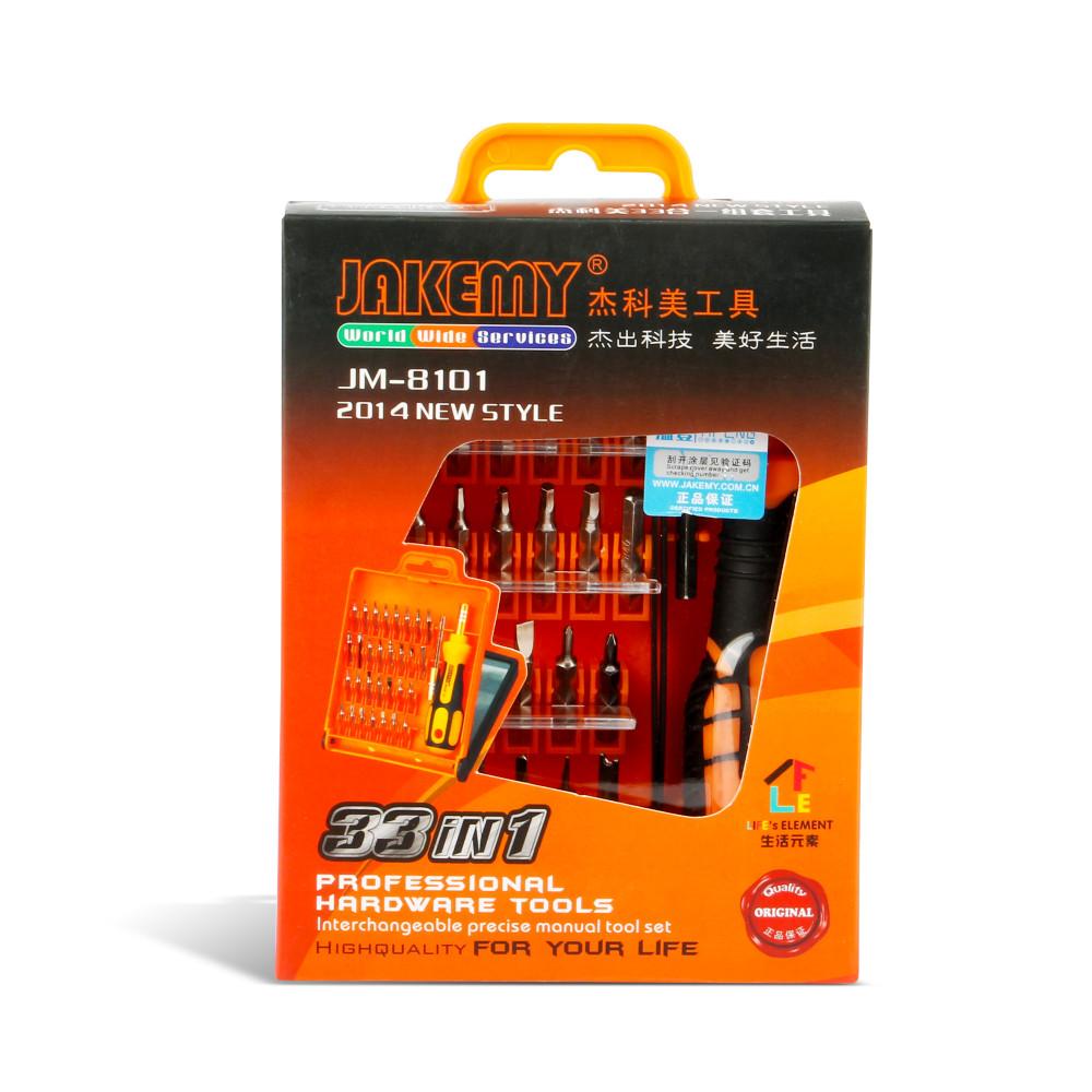 - HTB1Bvo - JAKEMY 32 in1 Multifunctional Precision Screwdriver Set For iPhone Laptop Mini Electronic Screwdriver Bits Repair Tools Kit Set