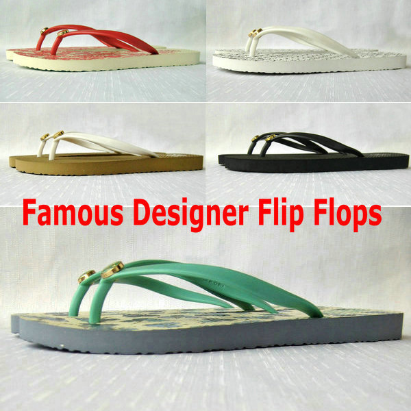 2015 new Famous Designer Flip flops Women Flat sandals Summer Slippers Wholesale and dropshipping(China (Mainland))