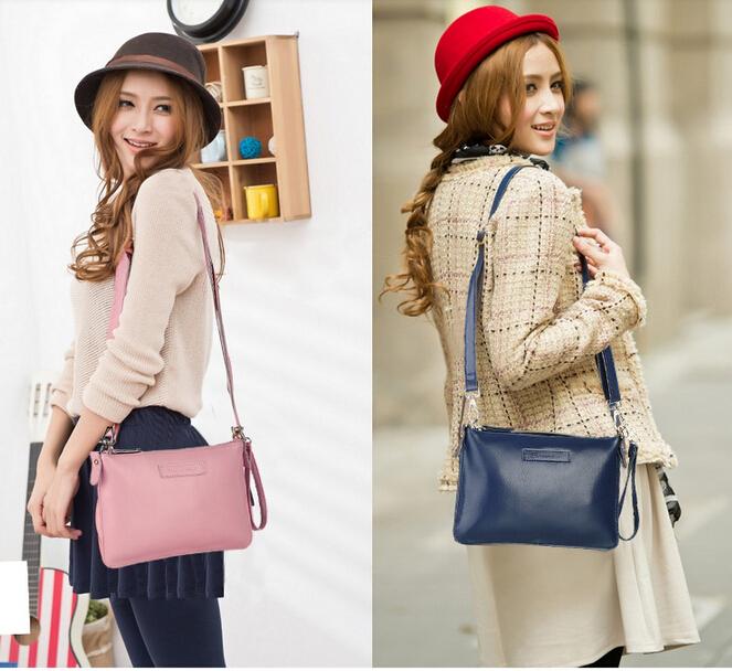 New hot women genuine leather bag 2014 women handbag fashion vintage cow bag concave animal natural skin women messenger bag65(China (Mainland))