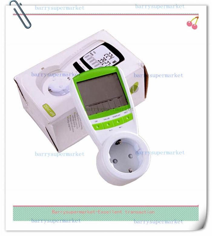 EU Plug Electric Energy Saving Power Meter Consumption Monitor Analyzer EU Meter Wireless Watt Consumption Monitor Analyzer