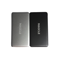 100 Original Magcle real 8800mah power bank Ultra Slim Metal power external charger for mobile phone