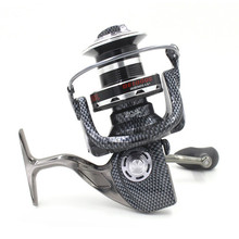 10000 Series 12+1BB All-Metal Line Cup Spinning Reel Large Long Shot Wheel Fishing Reel(China (Mainland))
