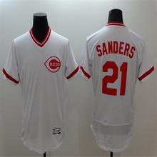 Mens Flexbase blank jersey Stitched Throwback Red white Jerseys(China (Mainland))