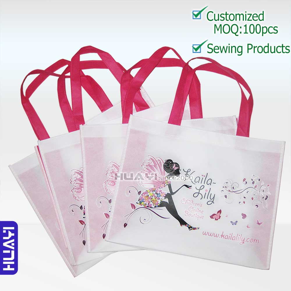 [J02]HOT SALE customized nonwoven bags,reusable bags, promotional bags for market,printed custom 4 colors logo,(China (Mainland))