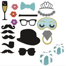 Buy 23PCS Mr Mrs Just Married Photo Booth Props Bride Groom birthday gift Wedding Decor Bridal baby Shower Event Party fun Supplies for $4.29 in AliExpress store
