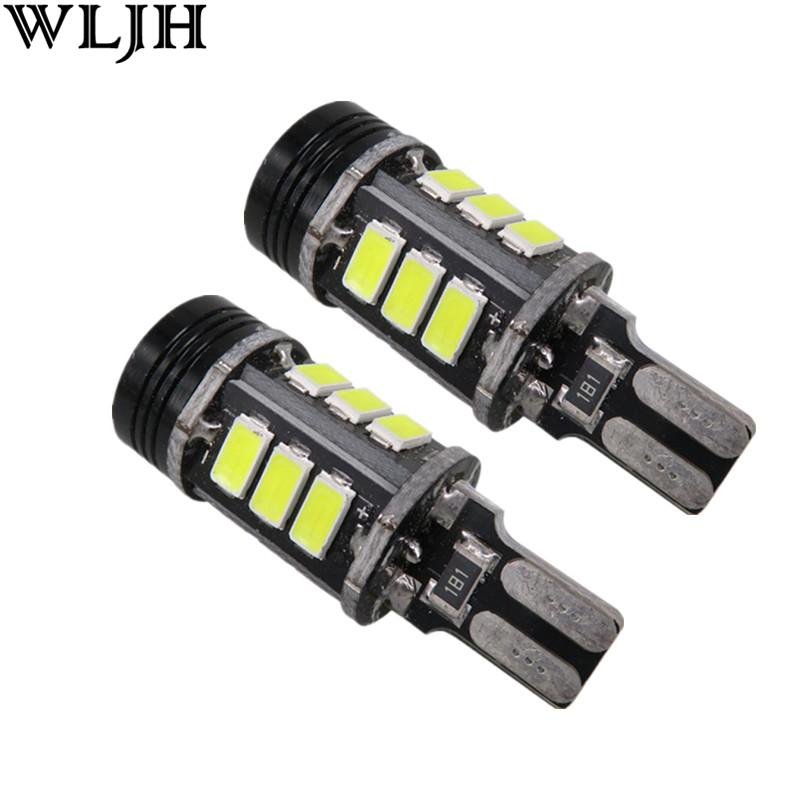 White T15 LED 5730SMD Canbus Error Free 921 W16W Emitter 360 Degrees Car Led Back Light Bulb Volkswagen Audi 2x - PJ Auto Tech Lighting store