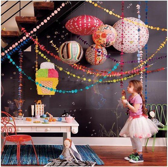 Весело красочные висит бумага гирлянды строка сеть свадебные ну вечеринку детские дети украшение круглой формы новый