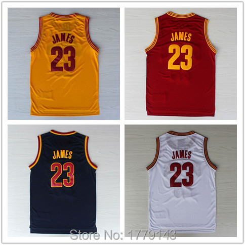 Cleaveland #23 LeBron James Jersey, New Material Rev 30 Sports Jersey, White Red Yellow Blue Cheap Basketball Jerseys S-XXL(China (Mainland))