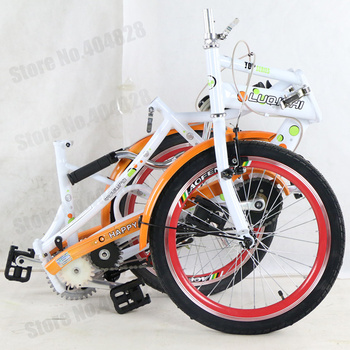 20 Inches Folding Tandem Bike For Lovers,Home...Best Valentines Gift,Convience via Car,Single Speed,High Quality