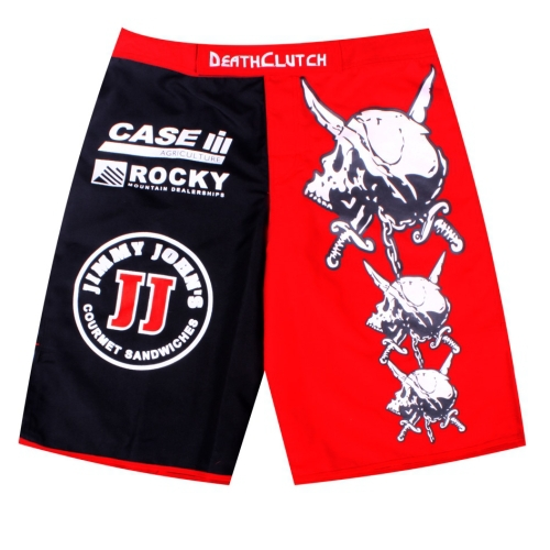 2015 New Listing Death Clutch Brock Lesnar MMA. Fitness Sanda fighting Muay Thai pants boxer shorts Size M-XXXL(China (Mainland))