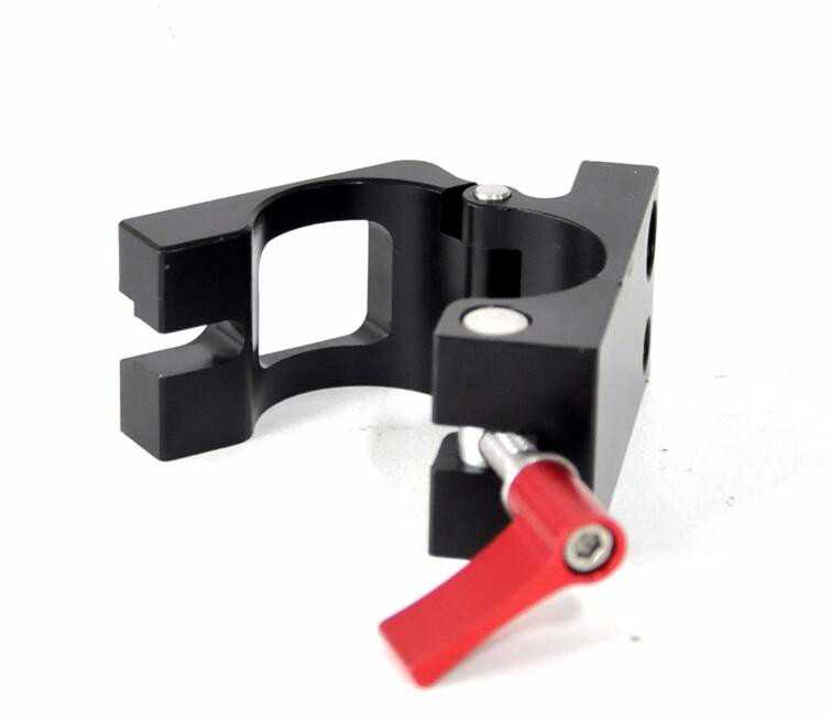 Free Shipping DJI Ronin M Ronin-M spare parts Screen display Holder Bracket Pipe tube clamps Aluminum alloy gimbal clip
