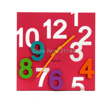square wall clock promotion