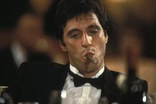 Scarface - Al Pacino Classic Crime Movie Poster Fabric Silk Print Great Pictures Wall -Silk 24x36inch leilei223 store