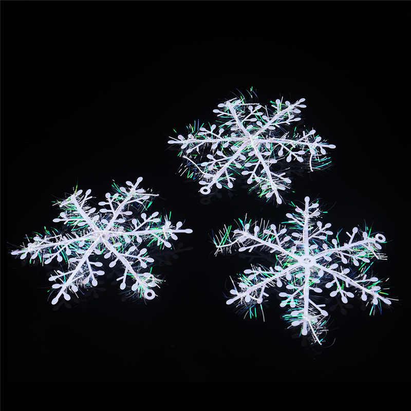 Navidad decoraci 243 n de la pared del 225 rbol de navidad copos de