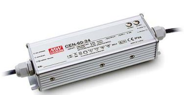 Free Shipping Mean Well CEN-60 IP66 60W 12/15/20/24/27/36/48V/54V 185*62.5*40.5mm 95~295VA Single Output Switching Power Supply(China (Mainland))