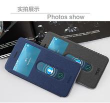MOFI Hight Quality Stand Case For Lenovo Sisley S90 Open Window Leather Case For Lenovo S90 Free Shipping
