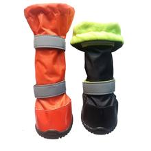 Perro Botas de agua 100% Impermeable perro zapatos con suela de goma invierno botas de nieve lluvia botas gato Polar de la Costura de Sellado zapatos(China (Mainland))