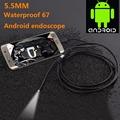 Mini USB Endoscope 5 5mm 1 1 5 2 3 5 5M Focus Camera Lens Waterproof