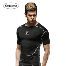 Powerhouse Fit T-shirts Bodybuilding and Fitness T Shirts Short Sleeve Tees Workout T shirt Plus Size J0007
