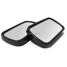 60mm x 30mm Flat Wide Angle Blind Spot Car Mirrors 2 Pcs/lot Discount 50(China (Mainland))