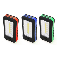 2016 NEW 5W 350LM COB+4 LED Flashlight Outdoor Work Camping Portable Torch Hang Tent Lamp Magnet Hook(China (Mainland))
