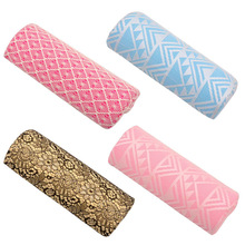 Washable Upscale Lace Nail Art Hand Pillow Soft Sponge Pillow Cushion For Nail Art Design Manicure Care Manicure Tool Arm Rest(China (Mainland))