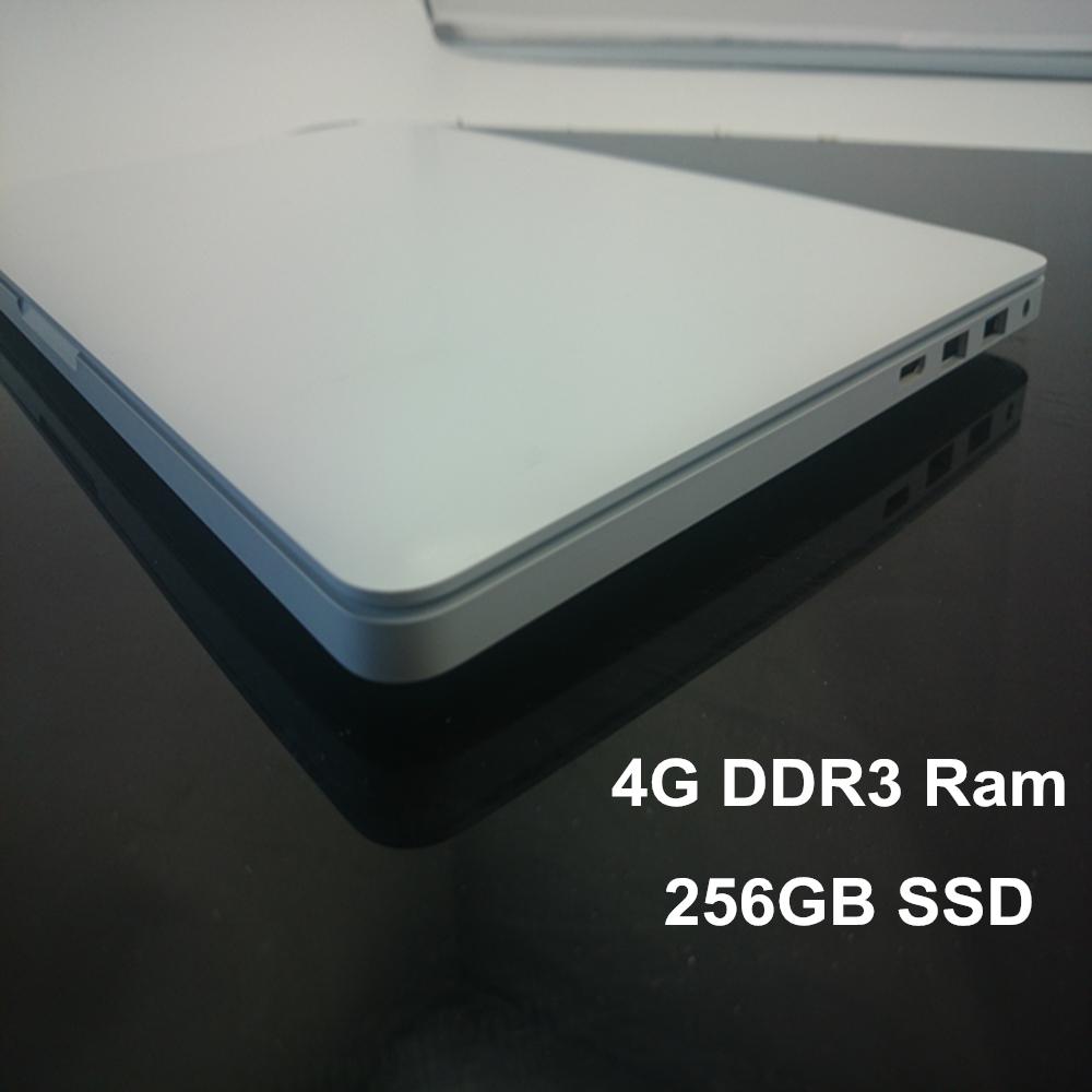 13 Inch Laptop Computer Notebook PC Celeron J1900 Quad Core 2.00GHz 4GB DDR3 256GB SSD Wifi MINI HDMI Webcam WCDMA 3G Window 7(China (Mainland))