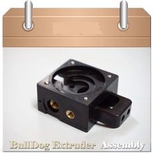 DIY Reprap Bulldog injection-molded Extruder For 1.75/3mm Compatible with E3D J-head MK8 Remote Proximity For 3D Reprap printer
