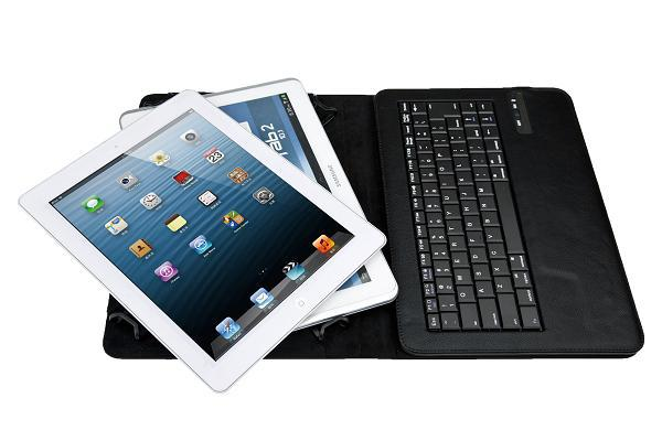 "Wireless Bluetooth Keyboard CaseUniversal 9""-10"" Tablet PC for iOS Android Windows Operation System new arrive free shipping(China (Mainland))"