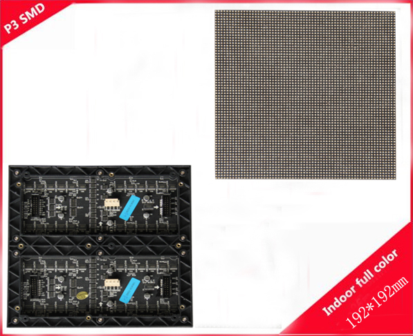 P3 fullcolor led display module used for the sinema and the supermarket play the advertisment(China (Mainland))